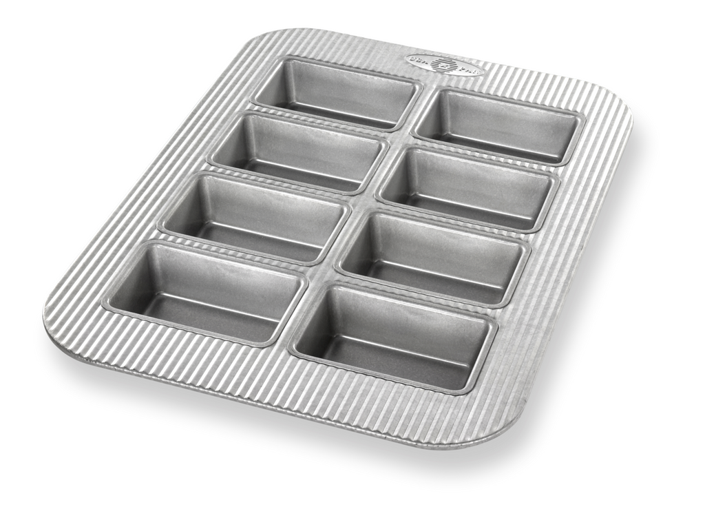 USA Pan Mini Loaf Pan, 2.25x3.8x1.25""