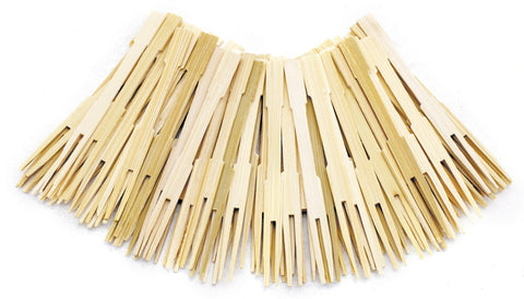 Norpro 72 Bamboo Party Forks