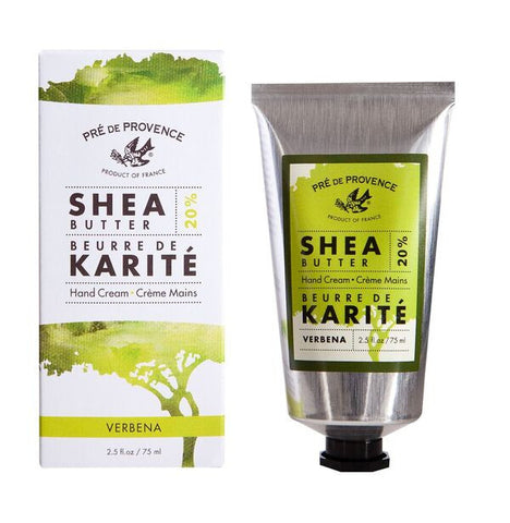European Soaps Verbena 20% Shea Butter Hand Cream 75ml