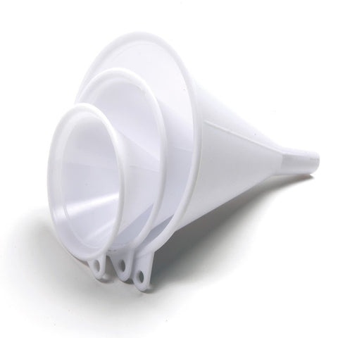 Norpro Plastic Funnels Set of 3