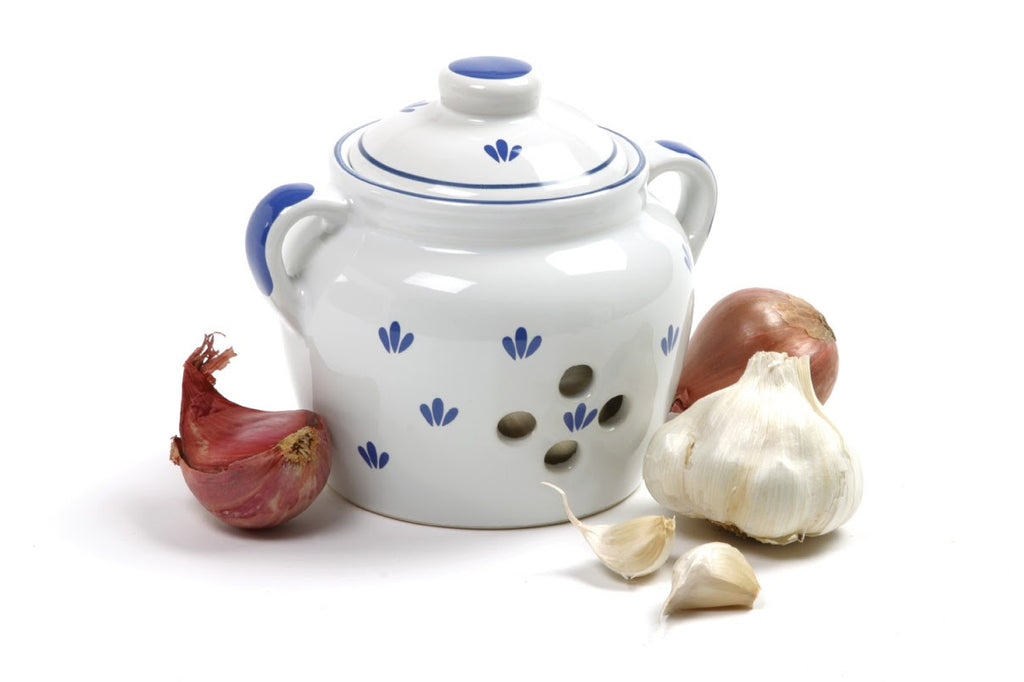 Norpro Decorative Ceramic Garlic Keeper