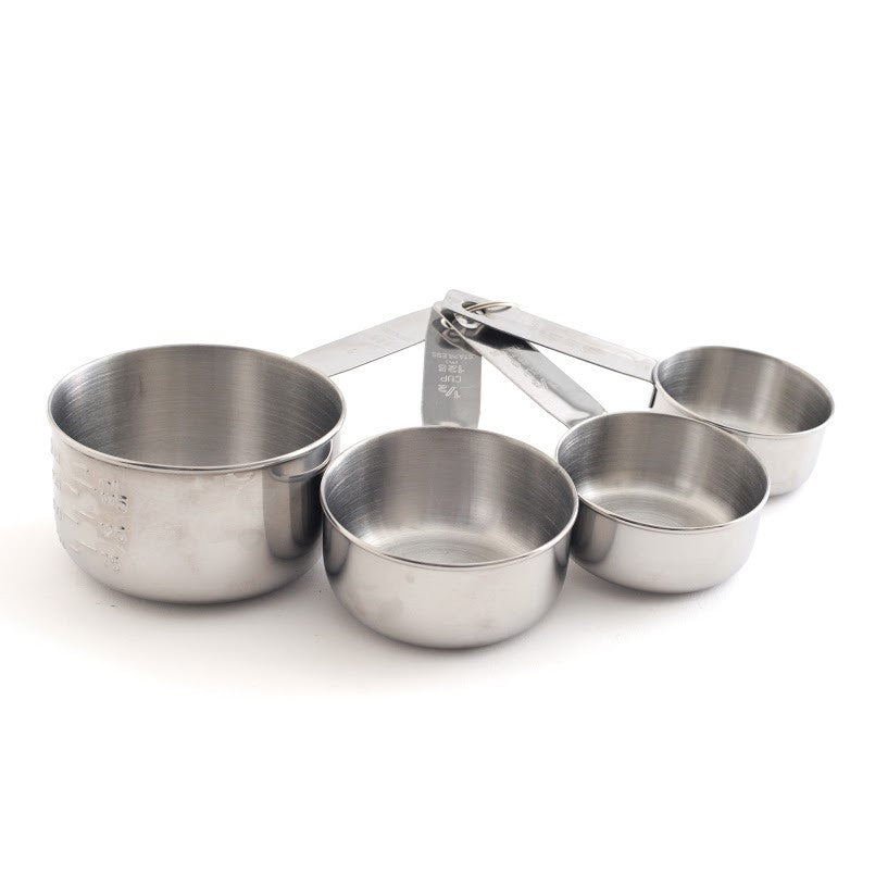 Norpro Stainless Steel 4 piece Measuring Cup Set