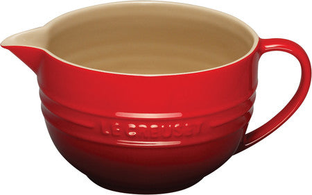 Le Creuset Cherry 2 Qt. Batter Bowl