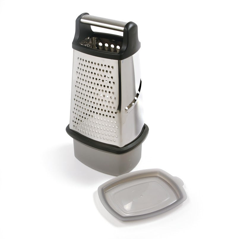 Norpro 4-Sided Grater with Catcher