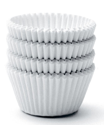 Norpro Mini White Muffin/Cupcake Baking Cups