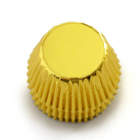 Norpro Small Gold Foil Muffin Cupcake Baking Cups