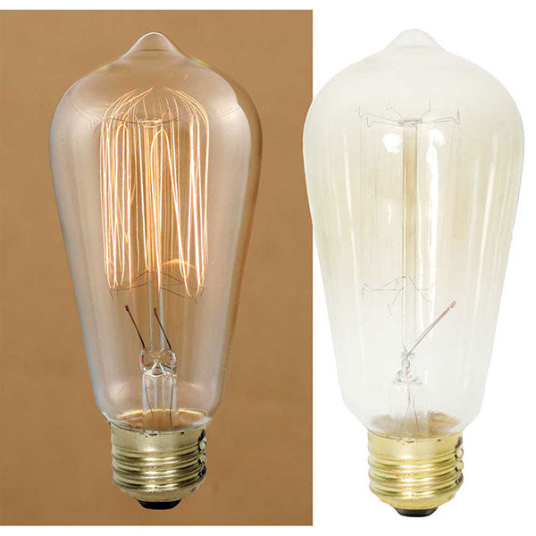 Colonial Tin Works Lg 40 Watt Edison Bulb