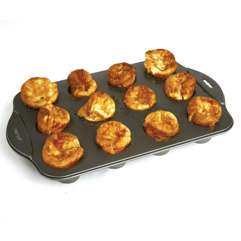 Norpro Nonstick Mini Popover Pan, 12 Count