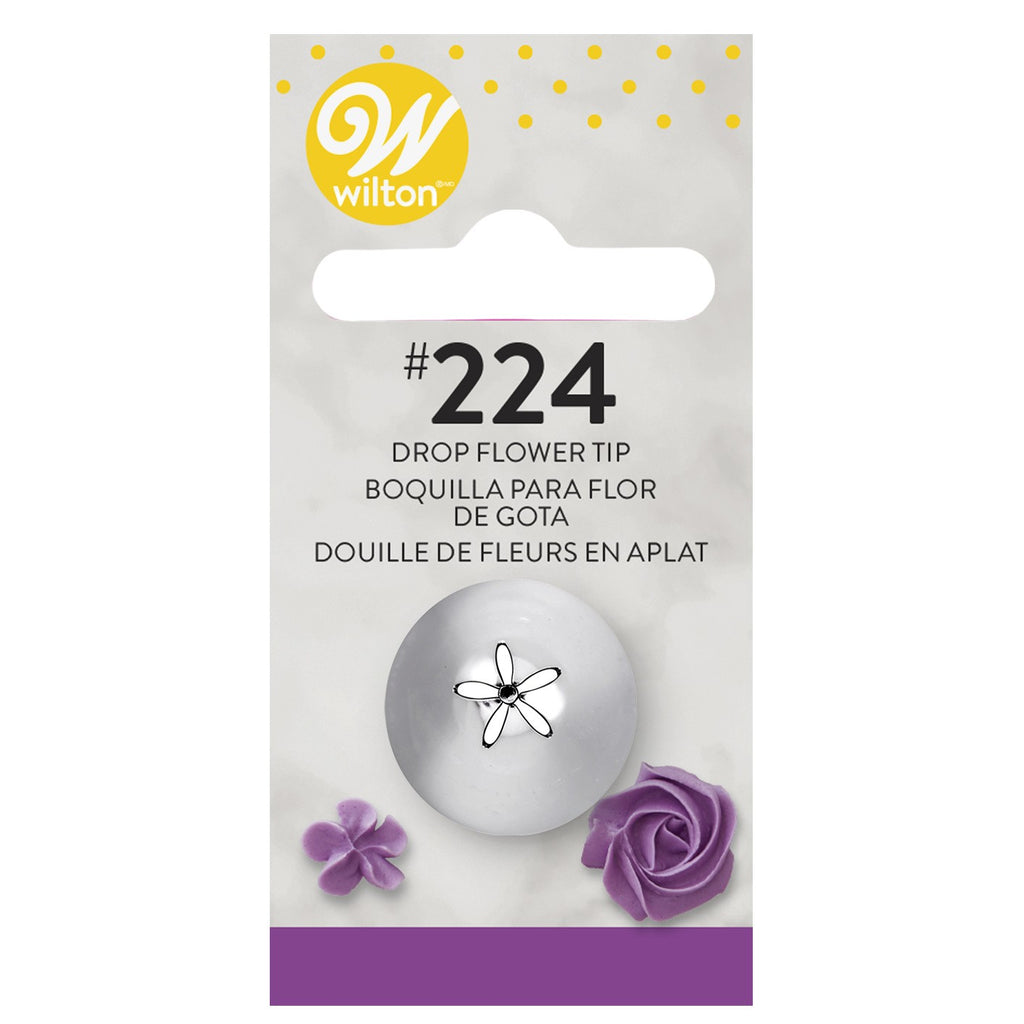 Wilton Decorating Tip # 224 Drop Flower