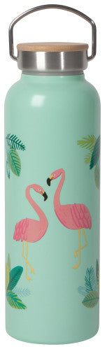 Now Designs Flamingos Roam Water Bottle