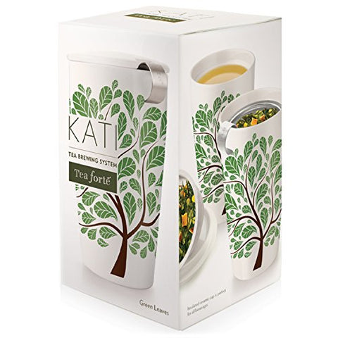 Tea Forte Kati Tea Brewing Cup Green Leaves
