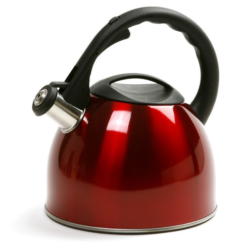 Norpro Red Whistling Tea Kettle