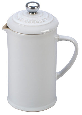 Le Creuset White French Press