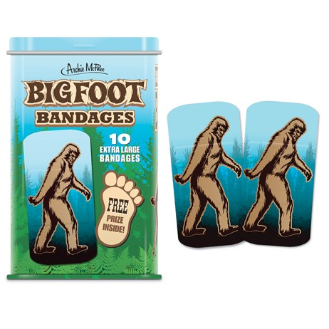 10 Bigfoot Bandages