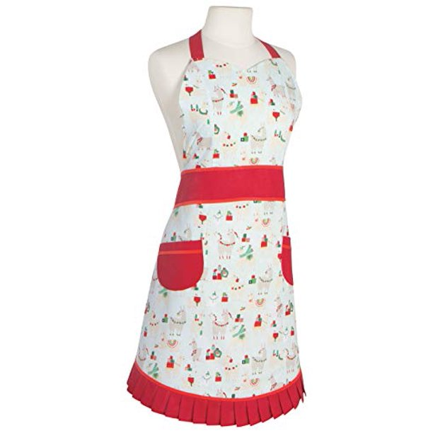 Now Designs FaLaLaLa Llama Adult Apron
