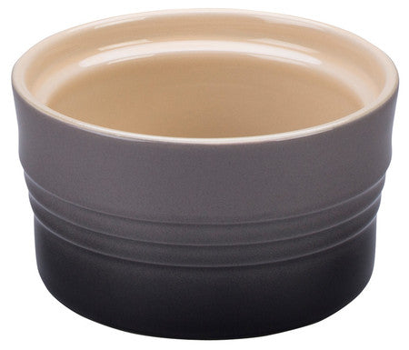 Le Creuset 7 oz. Flint Oyster Stackable Ramekin