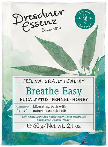 European Soaps Dresdner Essenz Breathe Easy Eucalyptus, Fennel & Honey Health Bath