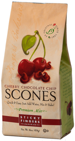 Sticky Fingers Bakery Scone Mix Cherry Chocolate Chip