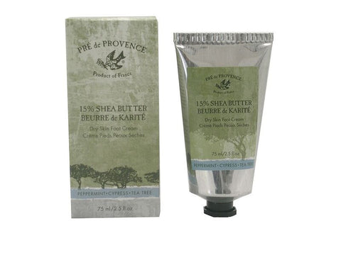 European Soaps 15% Shea Butter Dry Skin Foot Cream 75ml