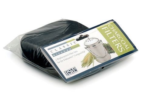RSVP Charcoal Filters for Compost Pail