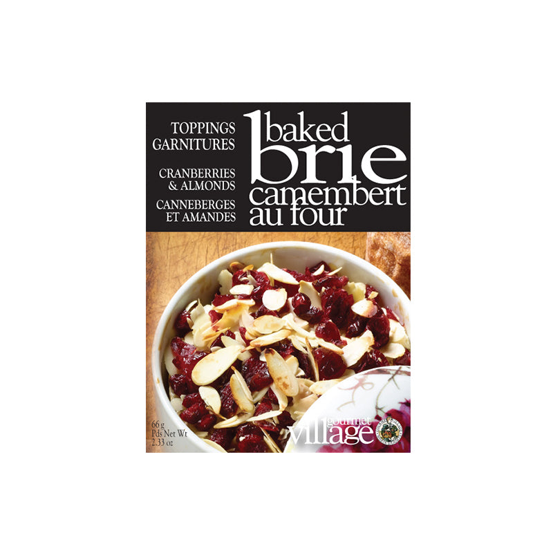 Gourmet Village Brie Topping Cranberries & Almonds