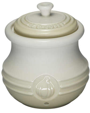 Le Creuset Meringue Garlic Keeper