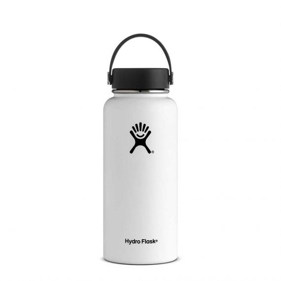 Hydro Flask 32 oz. White Wide Mouth with Flex Cap