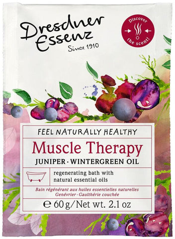 European Soaps Dresdner Essenz Muscle Therapy Juniper & Wintergreen Oil Health Bath