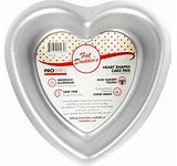 Fat Daddio's Heart Cake Pan 6x2""