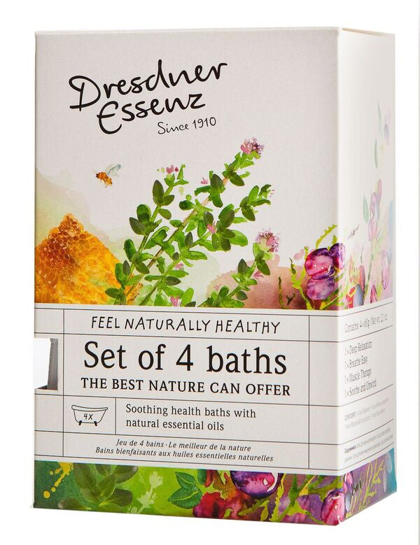 European Soaps Dresdner Essenz Set of 4 Health Baths