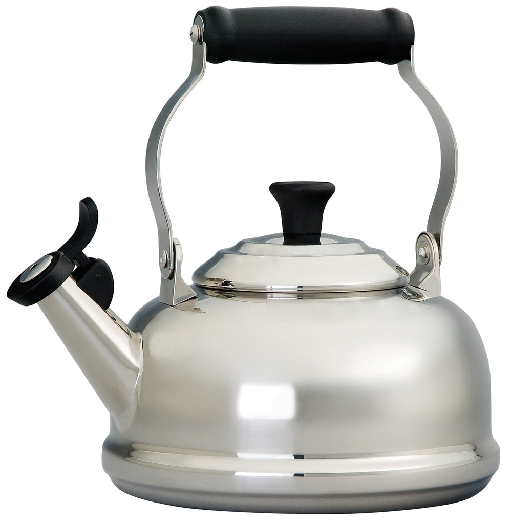 Le Creuset 1.7 Qt. Stainless Steel Classic Whistling Kettle