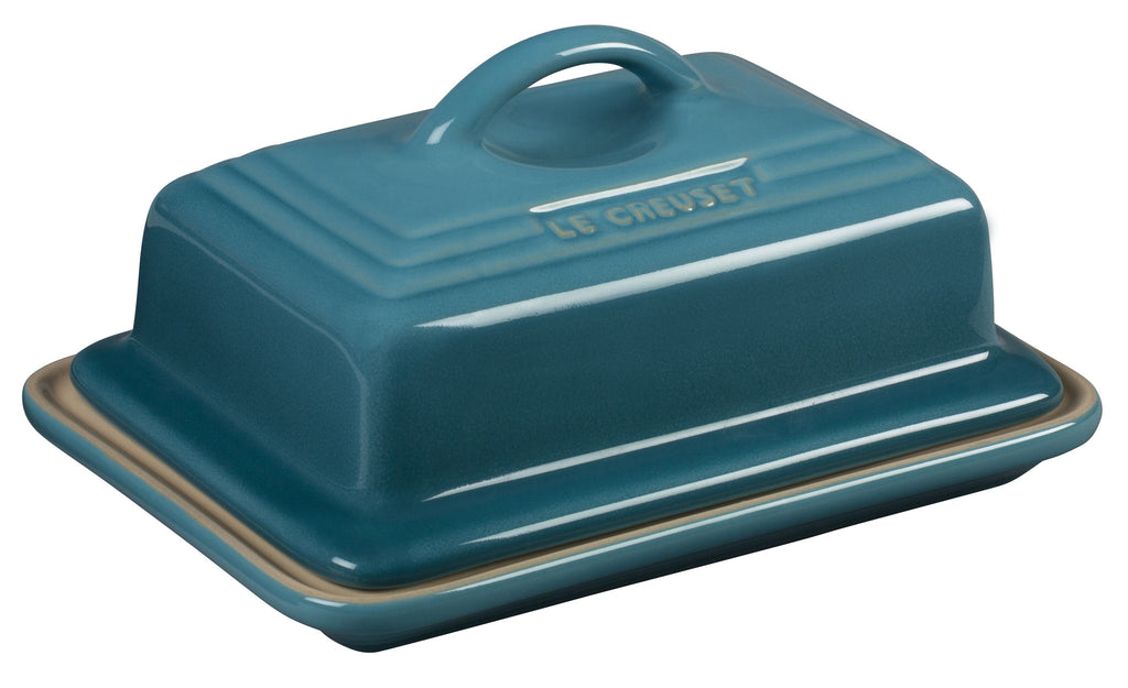 Le Creuset Caribbean Heritage Butter Dish