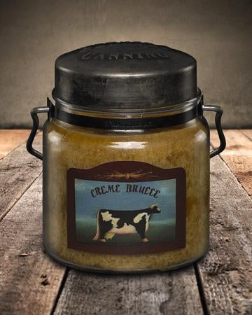 McCall's Creme Brulee Scented Jar Candle 16 oz.