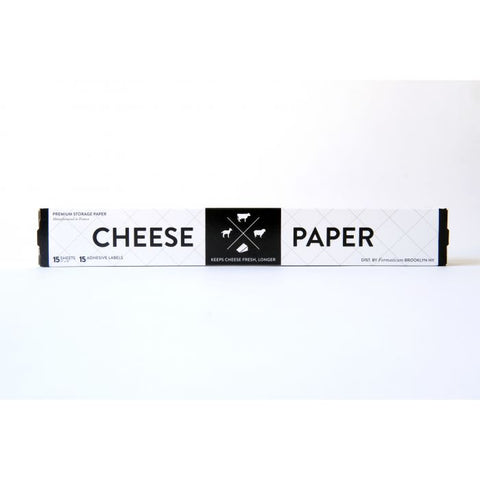 HIC Formaticum Cheese Paper with Labels