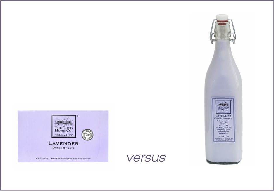The Good Home Company Lavender Dryer Sheets