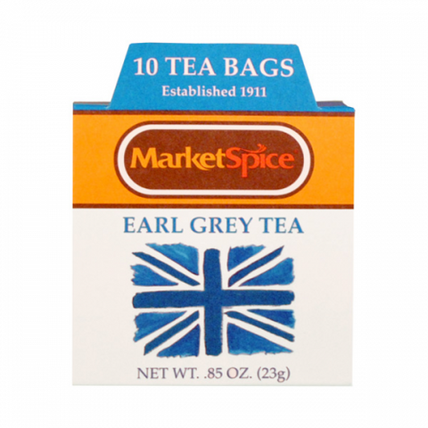 Market Spice 10 Tea Bag Boxed Earl Grey