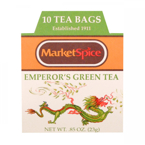 Market Spice 10 Tea Bag Boxed Emperor's
