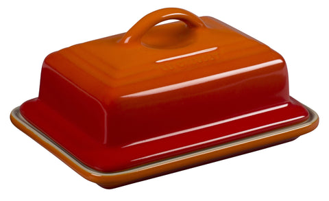 Le Creuset Flame Heritage Butter Dish