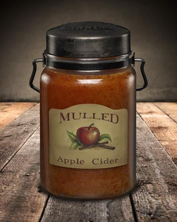 McCall's Mulled Apple Cider Scented Jar Candle 26 oz.