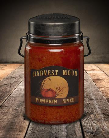 McCall's Pumpkin Spice Scented Jar Candle 26 oz.