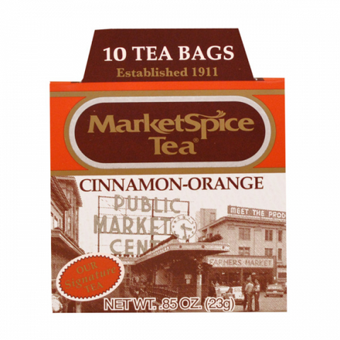 Market Spice 10 Tea Bags Cinnamon-Orange