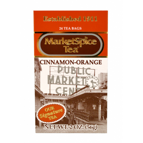 Market Spice 24 Tea Bag Cinnamon-Orange