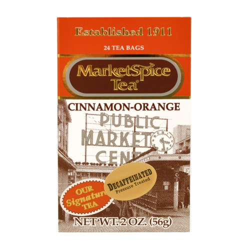Market Spice 24 Bag Decaf Cinnamon-Orange