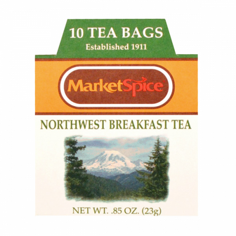Market Spice 10 Tea Bags NW Breakfast