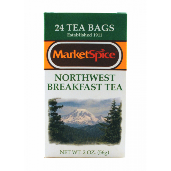 Market Spice 24 Tea Bag Northwest Breakfast