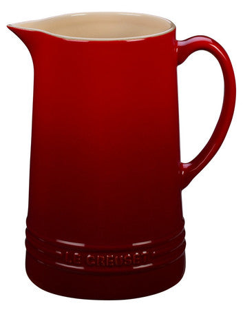 Le Creuset 1.6 Qt Cherry Pitcher