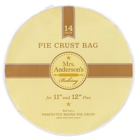 "HIC Mrs. Anderson's Baking 14"" Pie Crust Bag"