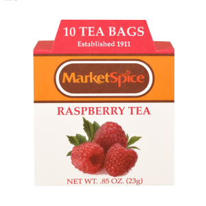 Market Spice 10 Tea Bag Boxed Raspberry