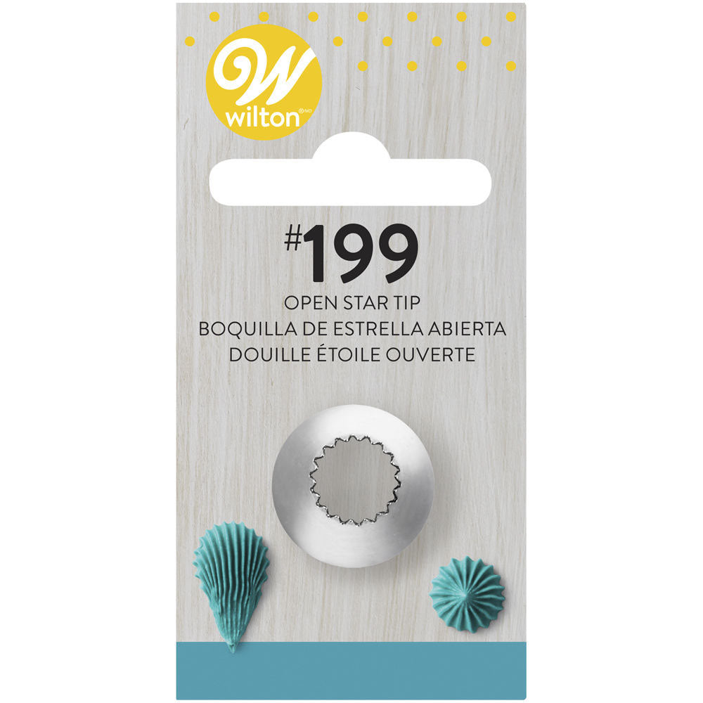 Wilton Decorating Tip # 199 Open Star