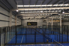 Tennis Courts LED lighting project in Spain